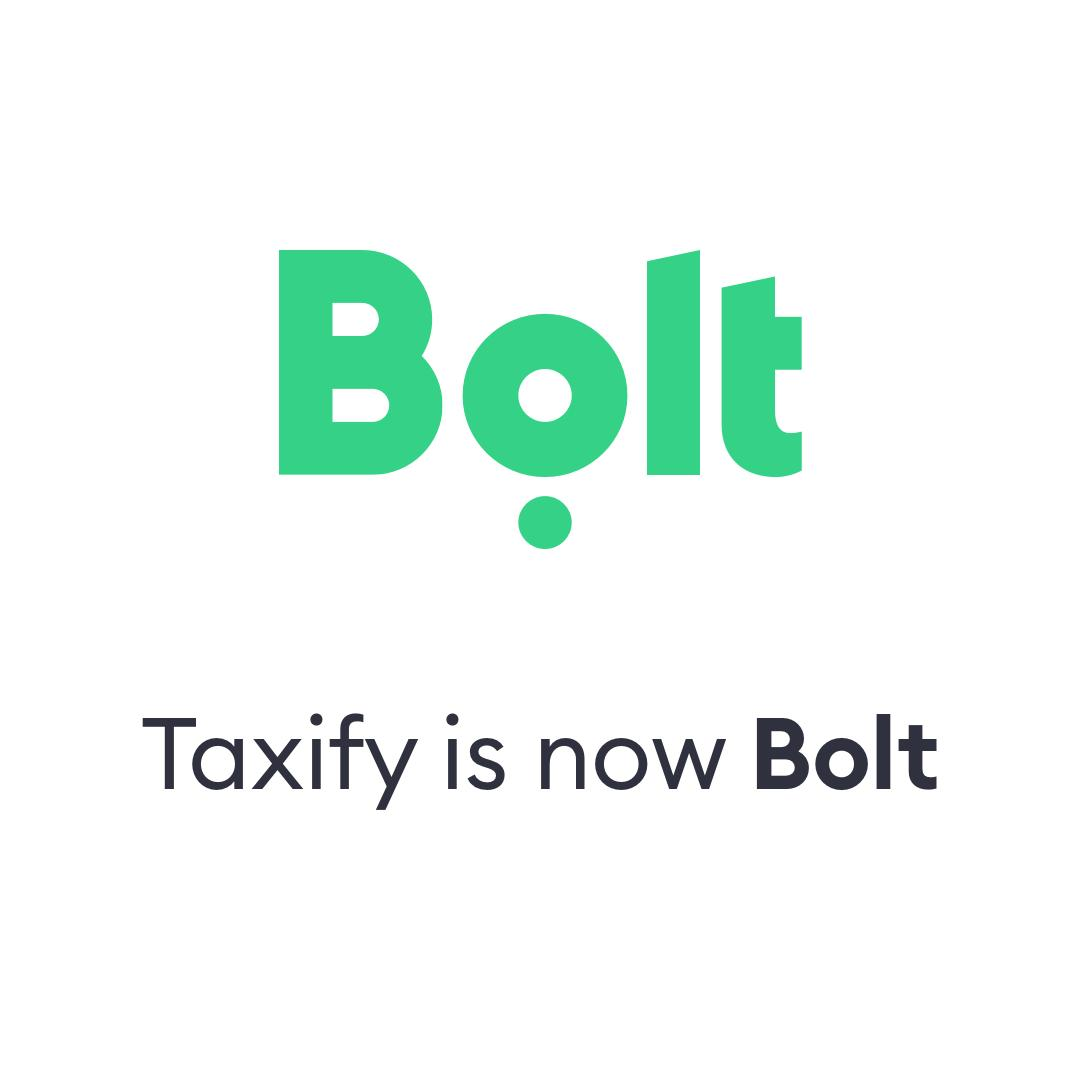 Taxify changes Name To Bolt