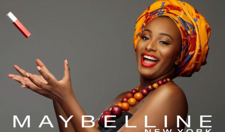 DJ Cuppy announced as 'Maybelline IT Girl' for Nigeria & Ghana