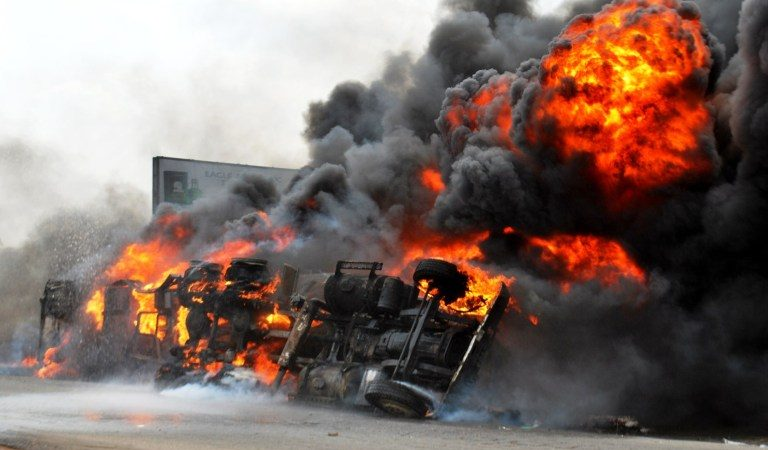 Breaking : Many feared killed as Oil pipeline explodes in Ijegun-Ikotun, Lagos