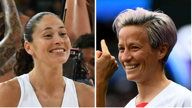 WNBA star Sue Bird blasts Trump's 'hate-filled Twitter spree' against girlfriend Megan Rapinoe