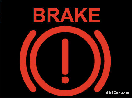 Brake Warning Light On