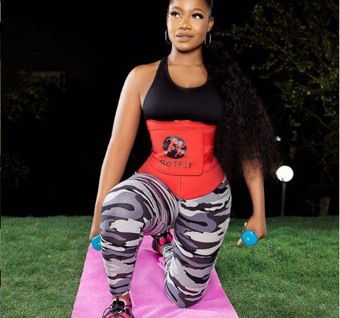 Tacha's Waist Speaks GETFIT!