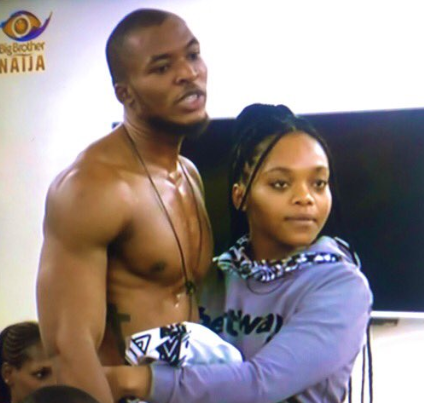 #BBNaija: Lilo weeps over her love interest for Eric.