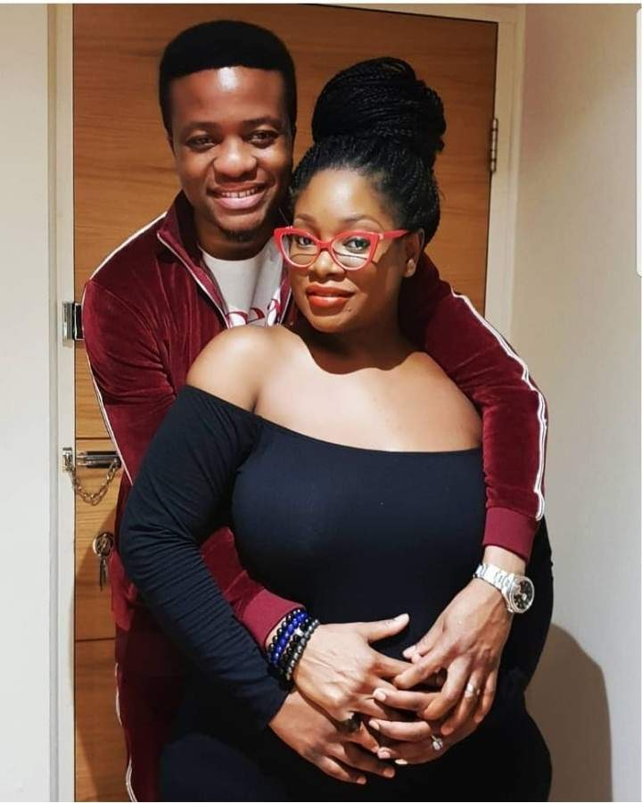 OAP Toolz welcomes 2nd child ( baby boy) with hubby Tunde Demuren